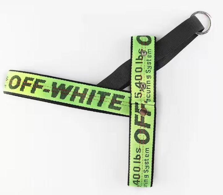 Woof-White Dog Leash & Harness Set