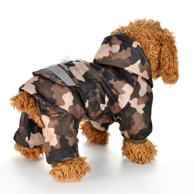Brooklyn Reflective Dog Rain Coat