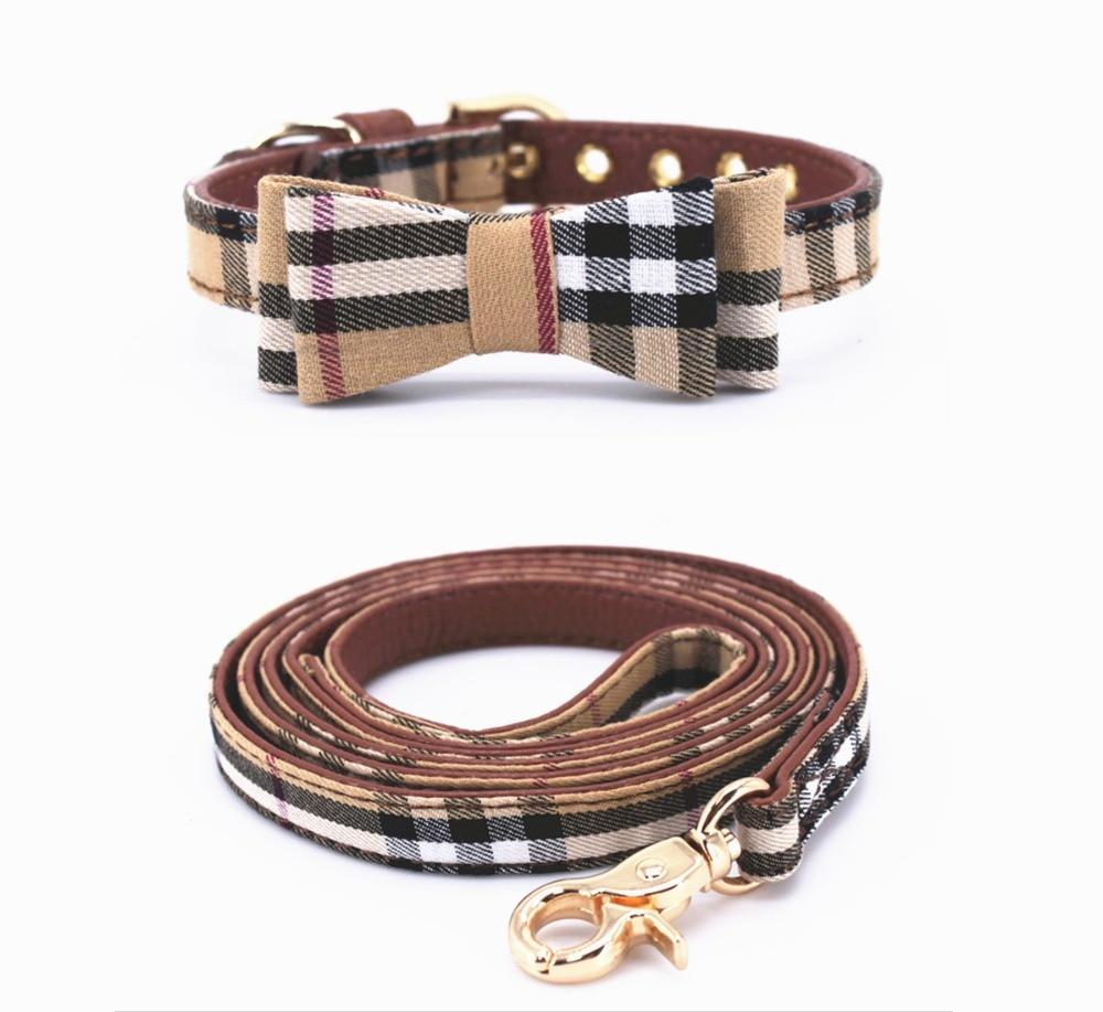 Furberry Dog Leash and Bowtie Collar