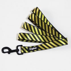 SPS Striped Dog Collar & Leash