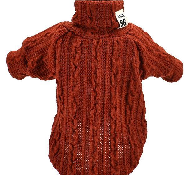 Fulton Turtleneck Dog Sweater