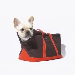 Wagwear Boat Canvas Zipper Dog Tote