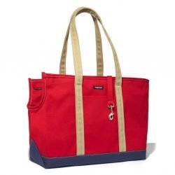 Wagwear Tri-Color Boat Canvas Dog Carrier