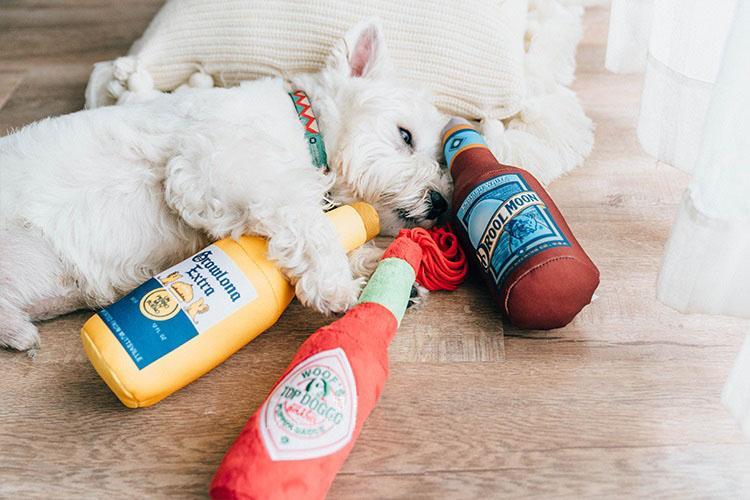 Drool Moon & Growlona Extra Dog Toys
