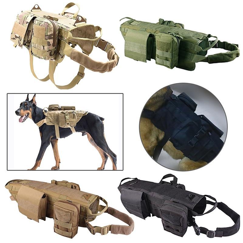 Tactical K9 Dog Harness Bundle