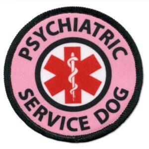 """2"""" Psychiatric Service Dog Patch"""