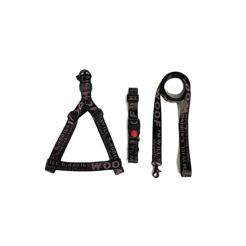 Woof X Harness, Leash and Collar