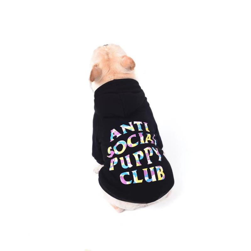 ASPC Multi-Color Dog Hoodie