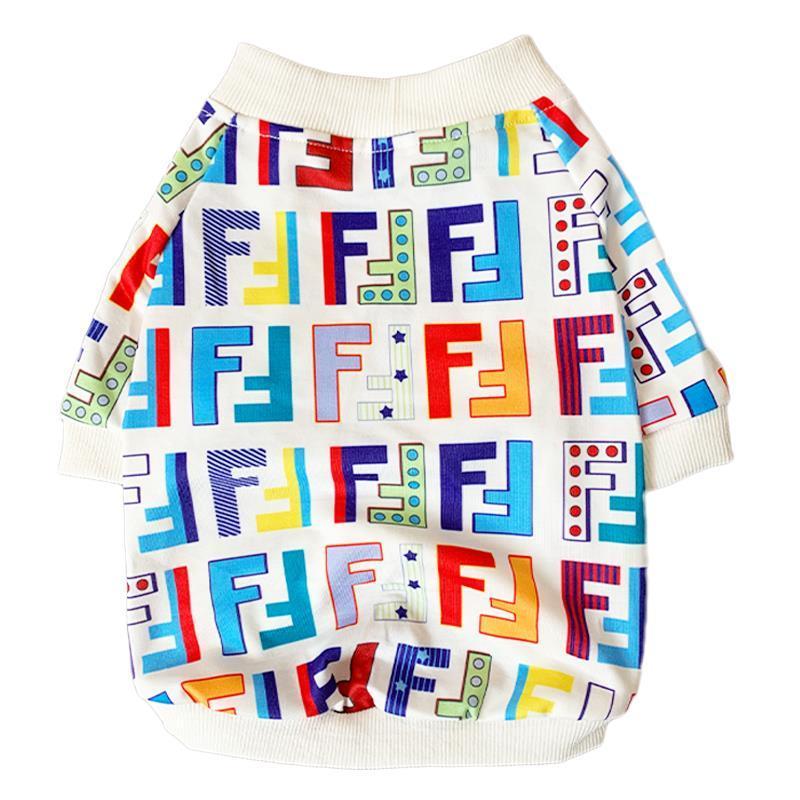 Fur Baby Multi-Color Print Dog Shirt
