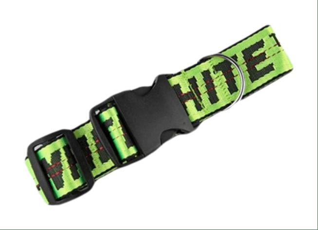 Woof-White Leash & Dog Collar