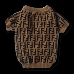 Fur Baby Coffee Dog Sweater