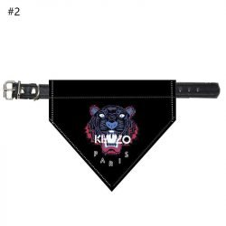 Tiger Bandana Dog Collar