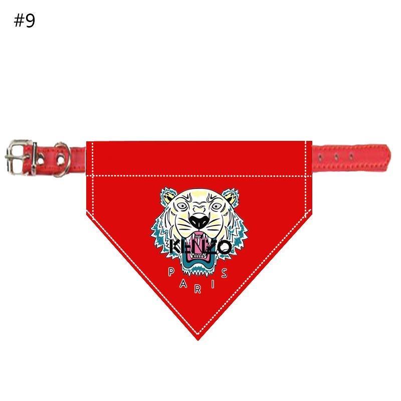Tiger Bandana Dog Collar