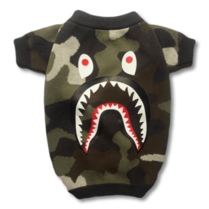 Barking Pup Camo Dog Sweater