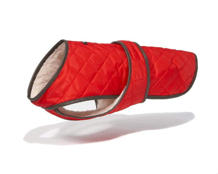Quilted Dog Vest w/ Berber Fleece