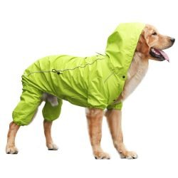Rain Rebel Dog Coat - Green