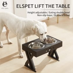 HighRize Adjustable Elevated Dog Bowls