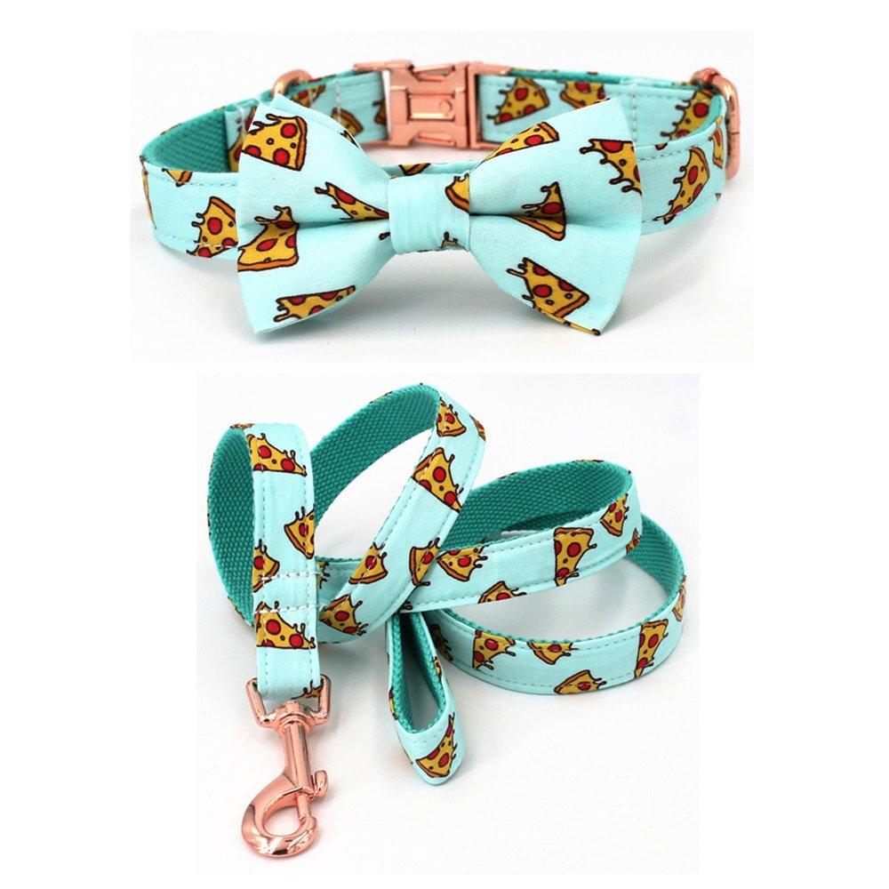 Pupperoni Bow Tie Dog Collar