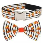 strip collar bow