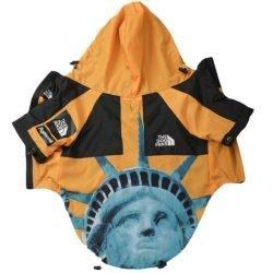 """Dog Fans """"Statue Of Liberty"""" Dog Jacket"""