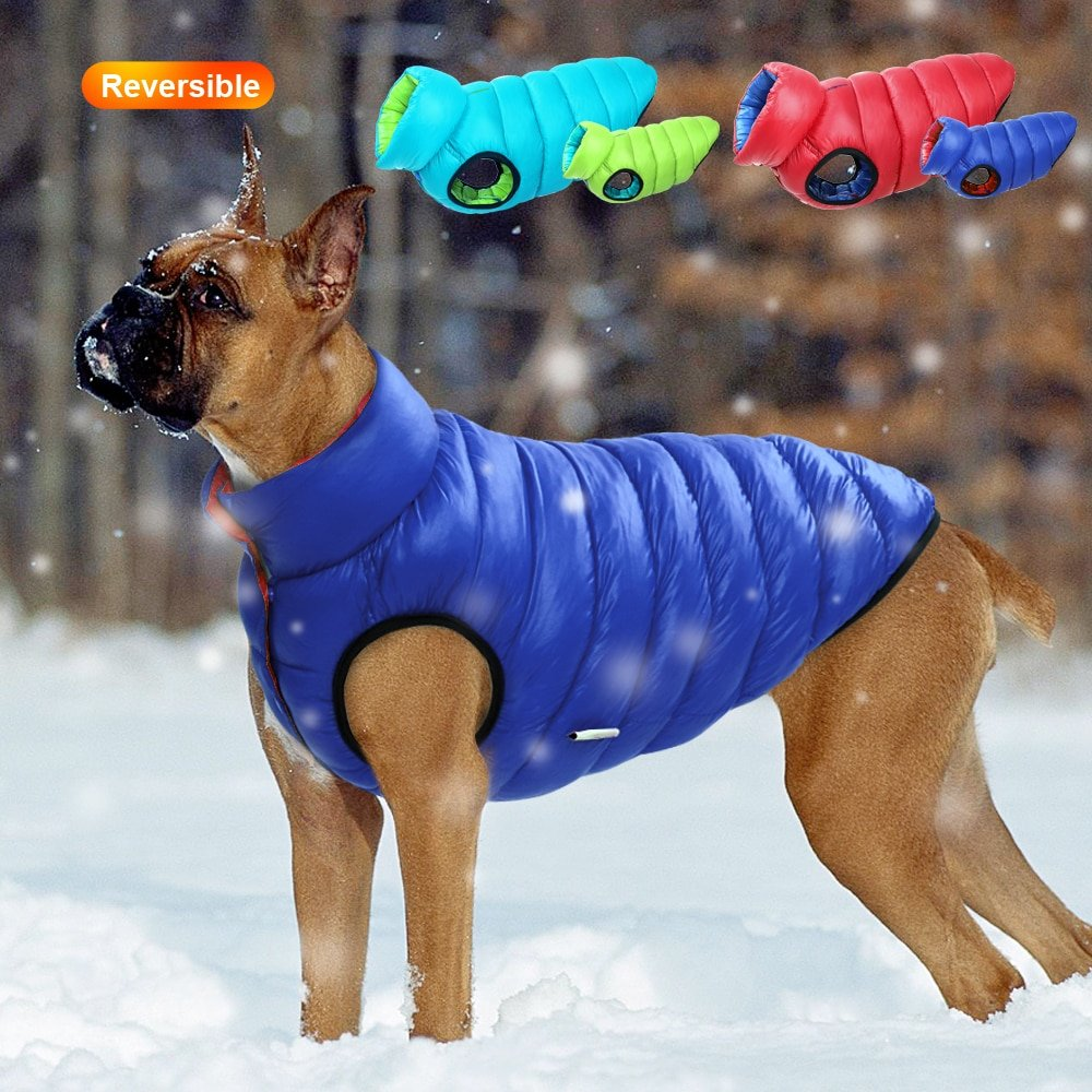 Fido's Reversible Puffer Dog Vest